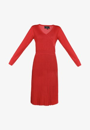 Jumper dress - red