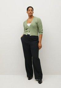 Violeta by Mango - XIPY - Trousers - schwarz - 1