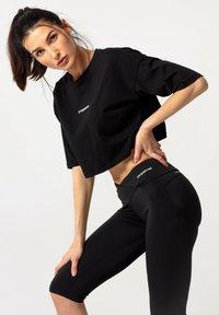carpatree - OVERSIZE - Print T-shirt - black - 3