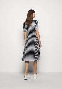 Lauren Ralph Lauren - Jersey dress - black/white - 2