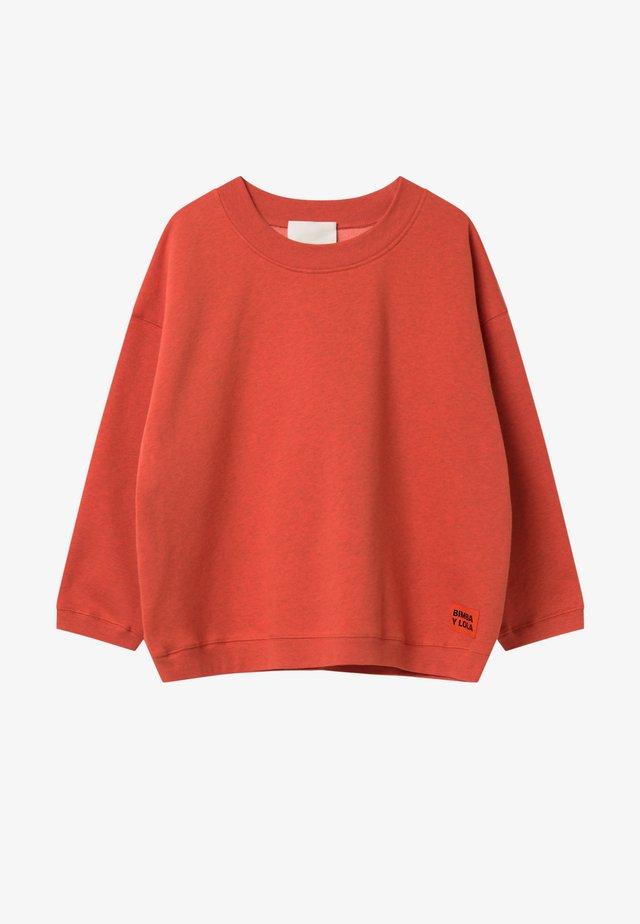 BIMBA Y LOLA SHORT RED SWEATSHIRT - Sweater - red