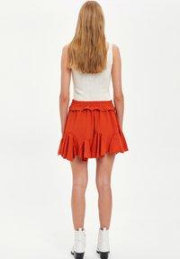 DeFacto - A-line skirt - bordeaux - 2