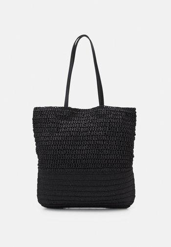 PCLINOALDO SHOPPER - Tote bag - black