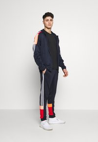 adidas Performance - 3STRIPES AEROREADY ATHLETICS SPORT TRACKSUIT - Verryttelypuku - dark blue - 1