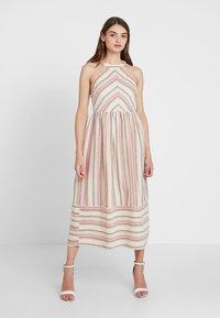 YAS - YASFENYA DRESS - Maxi dress - rose tan - 0