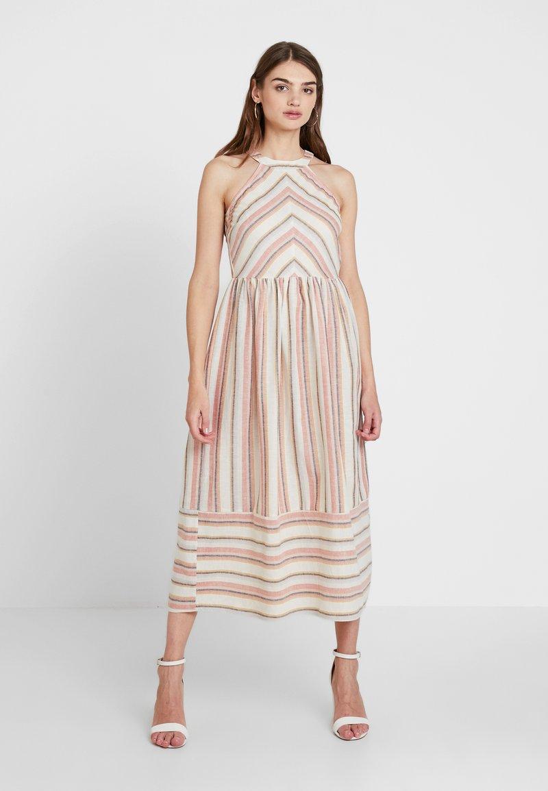 YAS - YASFENYA DRESS - Maxi dress - rose tan