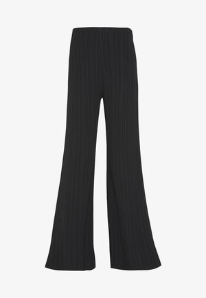 TIE DYE TROUSER - Trousers - black