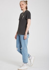 Volcom - LOCK IT UP TEE - Print T-shirt - black - 1