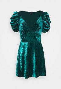Topshop - IDOL TEADRESS - Cocktail dress / Party dress - dark green - 4