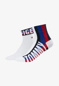 Tommy Hilfiger - MEN QUARTER 2 PACK - Socks - white - 1