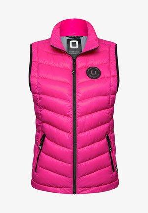 JACKYARD  - Waistcoat - pink light grey