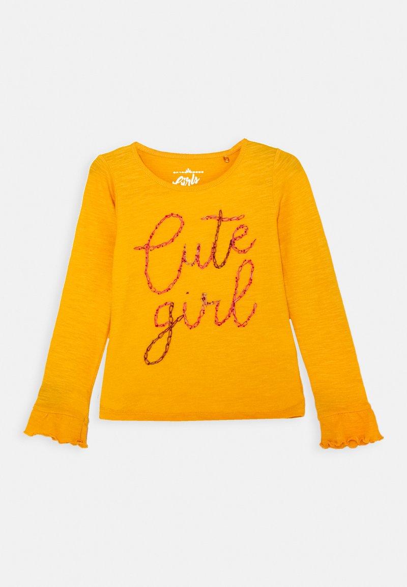 Lemon Beret - GIRLS - Long sleeved top - artisans gold