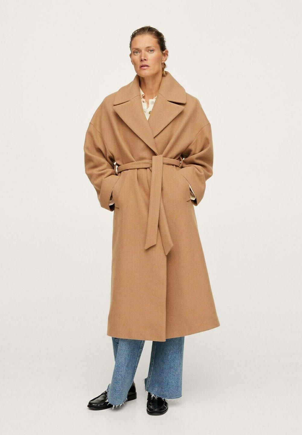 Damer MANTEAU LAINE MAXI REVERS - Klassisk frakke