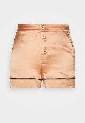 CLASSIC SHORTS - Pyjama bottoms - gold