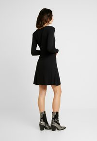 Even&Odd - JEARSEYKLEID BASIC - Jersey dress - black - 3