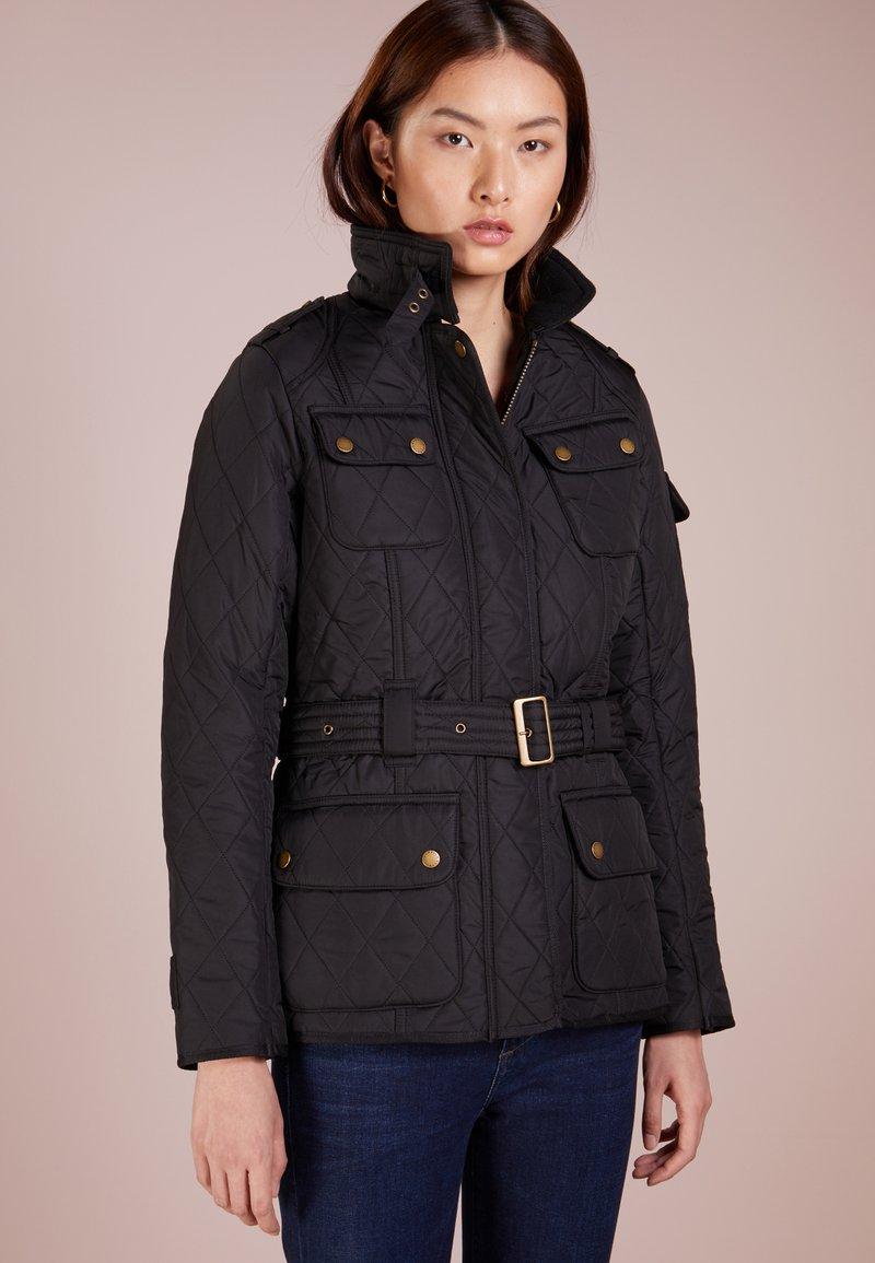 Barbour International - TOURER INTERNATIONAL POLARQUILT - Summer jacket - black