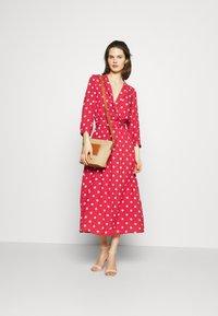 Freequent - Maxi dress - garnet rose/sand - 1