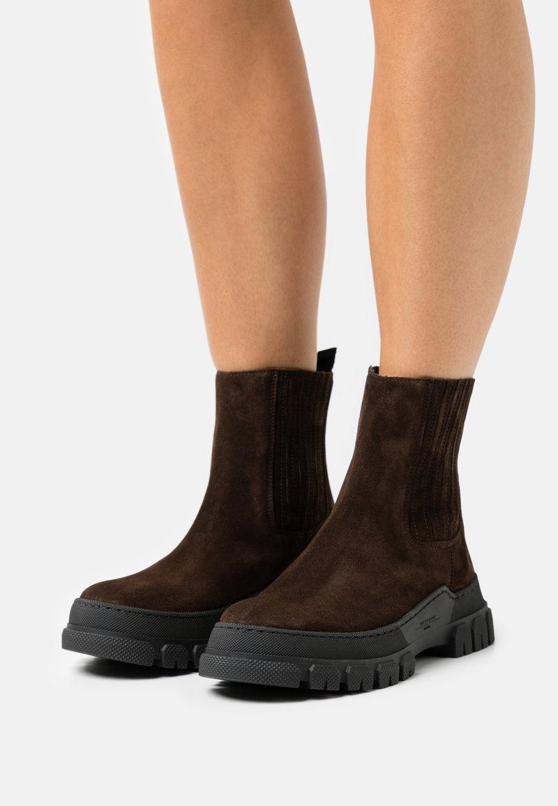 WEEKEND MaxMara - GENEPI - Platform ankle boots - testa moro