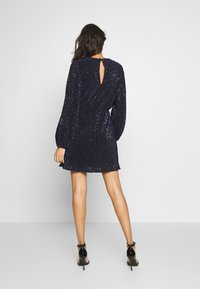 Nly by Nelly - BALLOON SLEEVE DRESS - Cocktailkjole - blue - 2