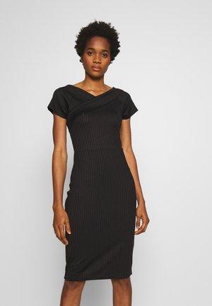 YASBLACE DRESS - Pouzdrové šaty - black