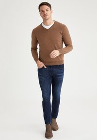 DeFacto - ITALIAN COLLECTION - Jumper - brown - 1