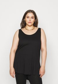 New Look Curves - CROSS BACK  - Top - black - 0