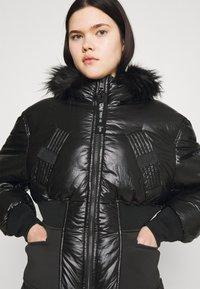 Diesel - W-ISOKE-SHINY - Winter jacket - black - 3