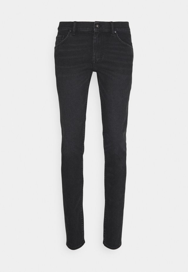 SLIM - Džíny Slim Fit - black denim