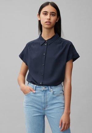 Button-down blouse - Scandinavian blue