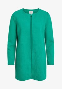 Vila - VINAJA NEW LONG JACKET - Summer jacket - pepper green - 4