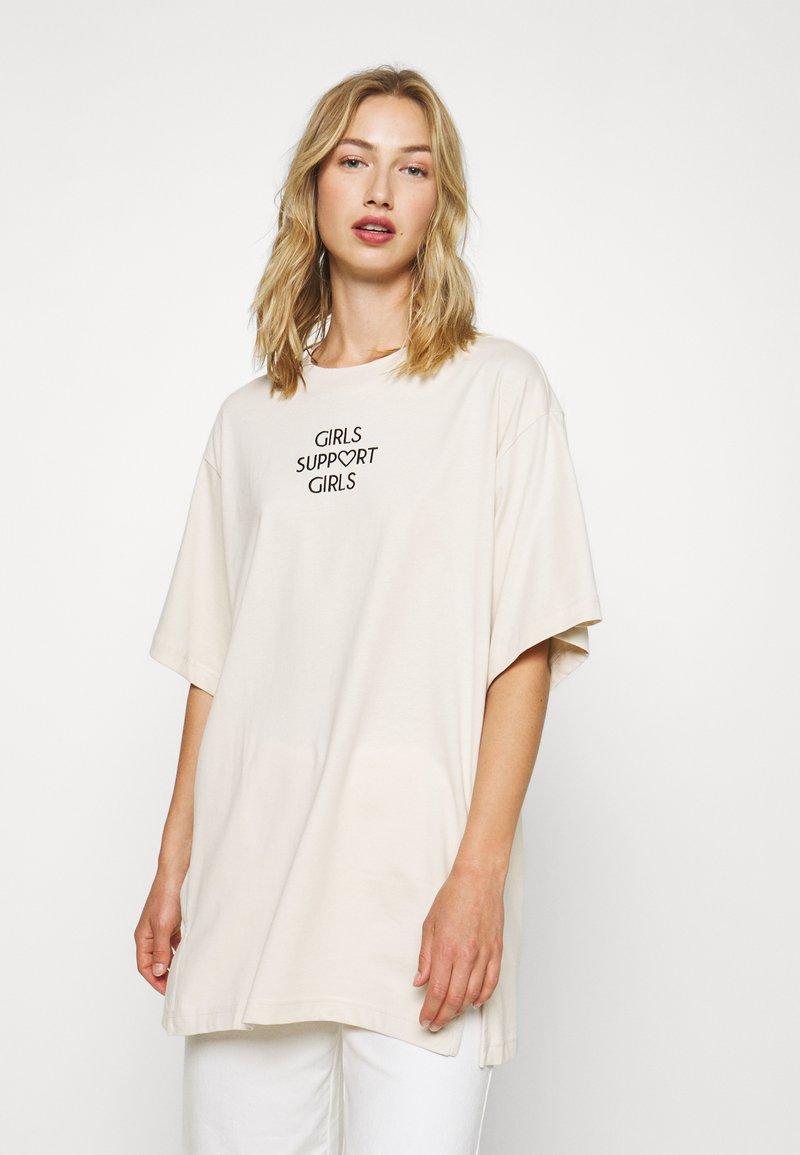Monki - TORI TEE - T-shirts med print - white