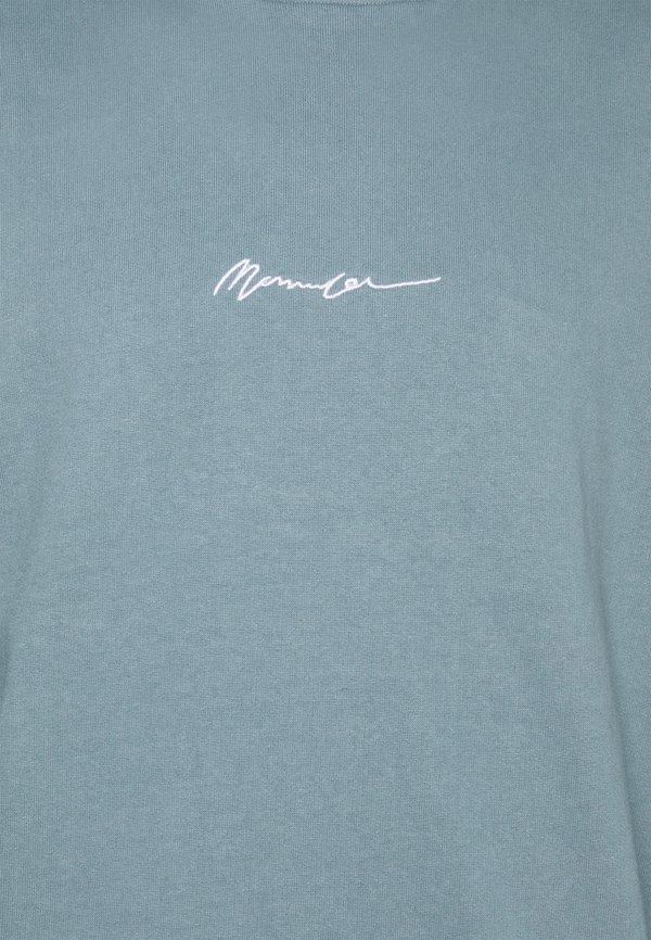Mennace ESSENTIAL SIGNATURE HIGH NECK UNISEX - Bluza - petrol/turkusowy Odzież Męska WWRC