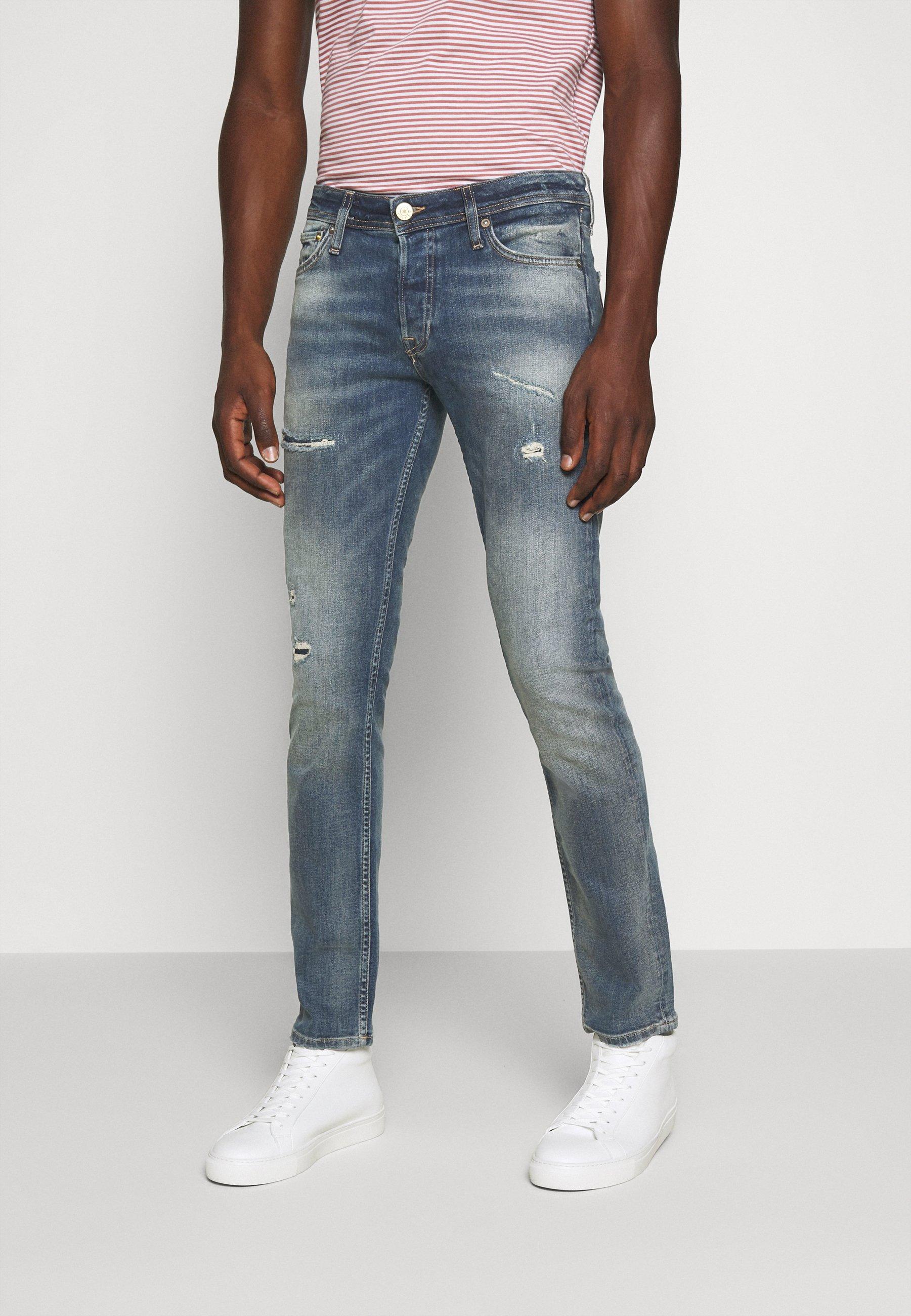 Men JJIGLENN JJORIGINAL - Jeans Skinny Fit