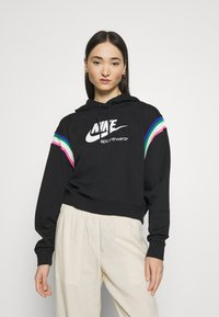 Nike Sportswear - HOODIE - Sweat à capuche - black/sail/white - 0