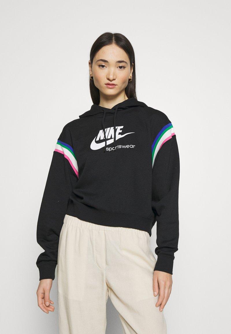Nike Sportswear - HOODIE - Sweat à capuche - black/sail/white