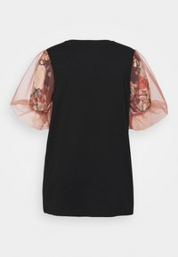 River Island Plus - Print T-shirt - black - 1