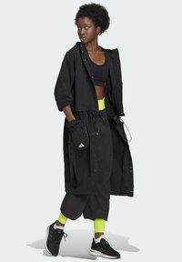 adidas Performance - Three-in-One PARKA SPORTS LOOSE JACKET - Parka - black - 1