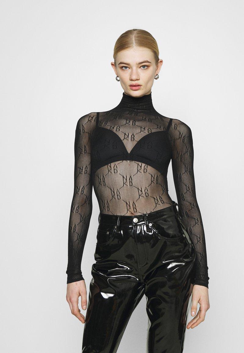NA-KD - BODY - Topper langermet - black