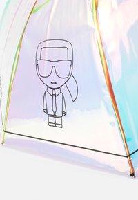 KARL LAGERFELD - IKONIK BALLON UMBRELLA - Parapluie - iridescent - 2