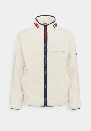 TONAL MIX JACKET UNISEX - Light jacket - white