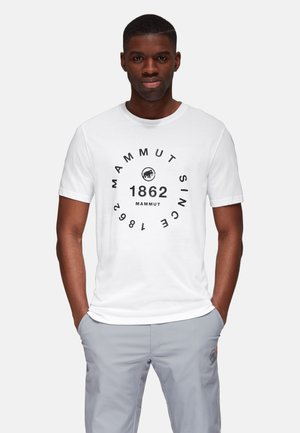 SEILE  - Print T-shirt - white