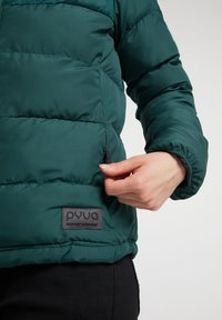 PYUA - Ski jacket - dark moss green - 4