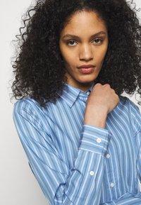 Lauren Ralph Lauren - DRESS - Shirt dress - blue/white - 3