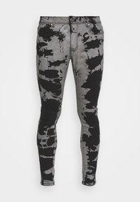 Brave Soul - Jeans Skinny Fit - grey/black wash - 4