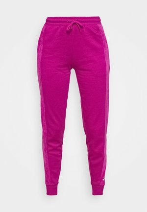 HRTG VELOUR - Tracksuit bottoms - cactus flower