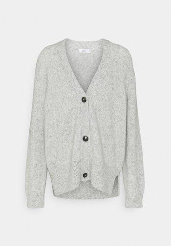 Kardigan - light grey melange