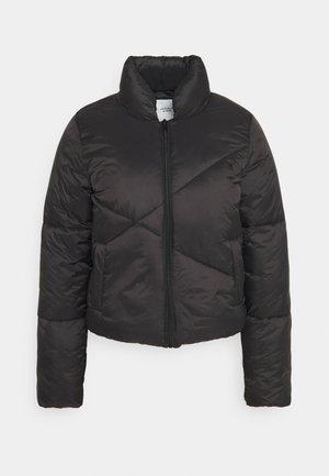 JDYTIMBER SHORT PADDED  - Winter jacket - black