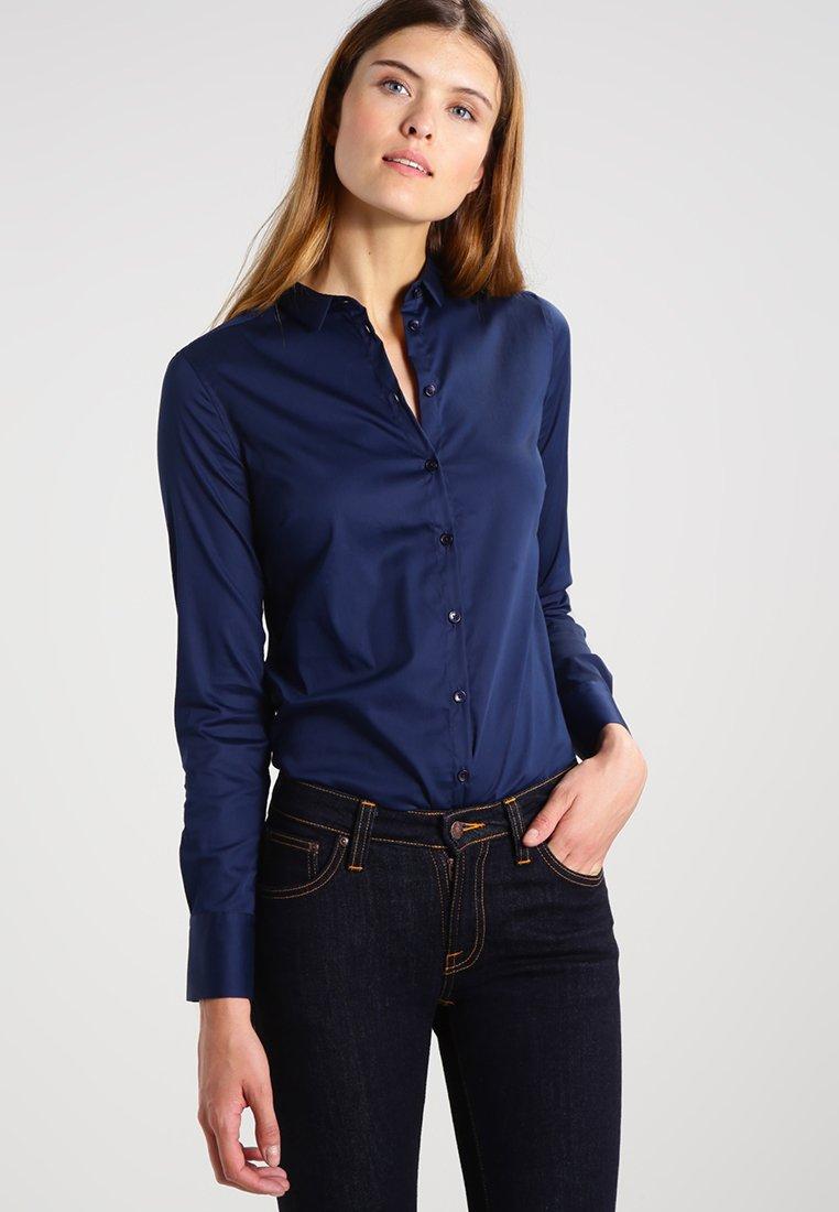 Mos Mosh - TILDA - Button-down blouse - navy