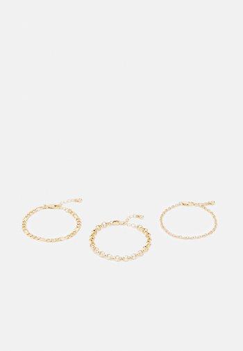 PCLARUEN BRACELET 3 PACK - Bracelet - gold-coloured