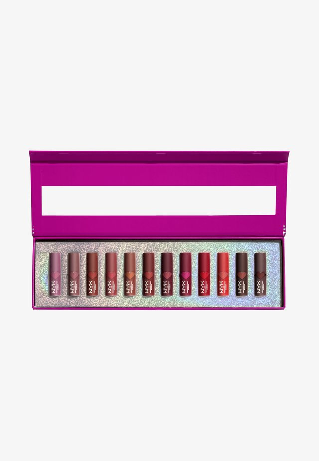 MINI MATTE LIPPIE VAULT - Palette pour les lèvres - -